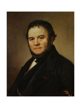 The French Writer Henri Beyle, also known as Stendhal, 1840 by Johan Olaf Sodermark