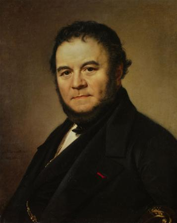 The French Writer Henri Beyle, also known as Stendhal, 1840