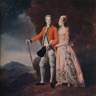 'Couple in a Mountain Landscape', c1779