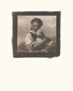 The Young Shepherdess by Johann Baptist Hofner