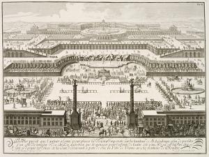 First Proposal for the Schonbrunn Palace, Vienna, from 'Entwurf einer historischen Architektur' by Johann Bernhard Fischer Von Erlach