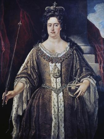 Portrait of Queen Anne, C.1702
