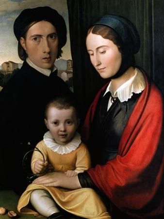 Self Portrait with Family