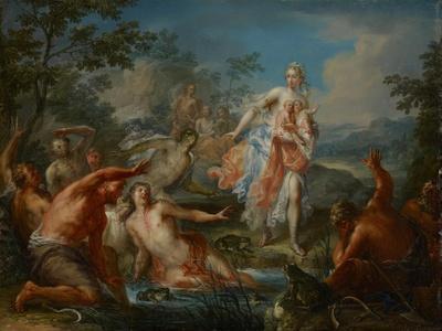 Latona Turning the Lycian Peasants into Frogs, C.1730