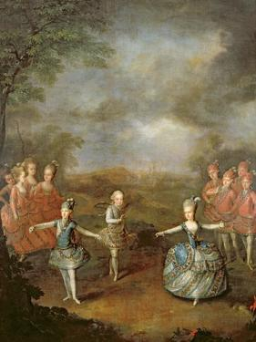 Marie Antoinette and Her Sisters in 'Il Trionfo Dell' Amore, Performed on 25th January by Johann Georg Weikert