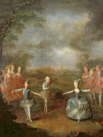 Marie Antoinette and Her Sisters in 'Il Trionfo Dell' Amore, Performed on 25th January