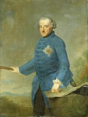 Frederick Ii the Great of Prussia, C.1770 by Johann Georg Ziesenis