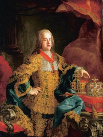 Portrait of Emperor Franz I, 1752