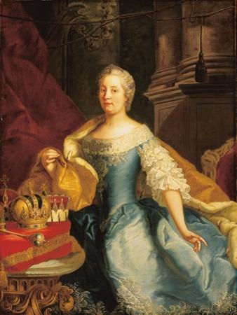 Portrait of Empress Maria Theresa, 1749