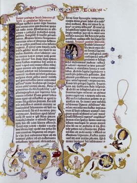 Gutenberg Bible by Johann Gutenberg