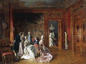 Reunion D'Elegantes by Johann Hamza