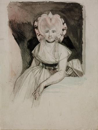 Portrait of the Artist's Wife by Johann Heinrich Füssli