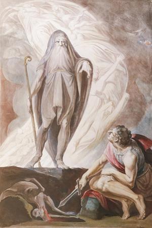 Teiresias Foretells the Future to Odysseus, 1780-1783 by Johann Heinrich Füssli