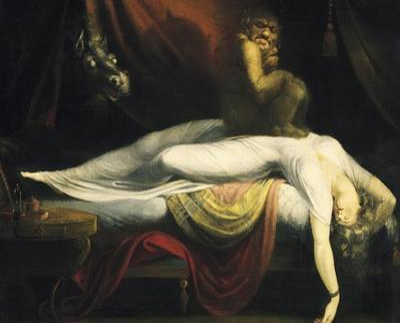 The Nightmare I, 1781 by Johann Heinrich Füssli