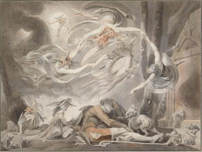 The Shepherd's Dream, 1786 by Johann Heinrich Füssli