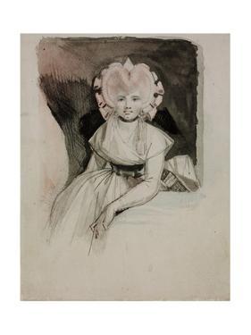 Portrait of the Artist's Wife by Johann Heinrich Fussli