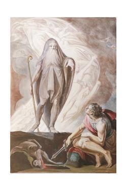 Teiresias Foretells the Future to Odysseus, 1780-1783 by Johann Heinrich Fussli