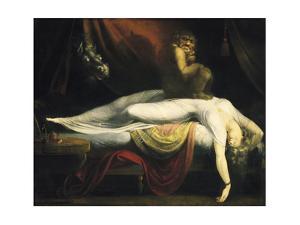 The Nightmare I, 1781 by Johann Heinrich Fussli