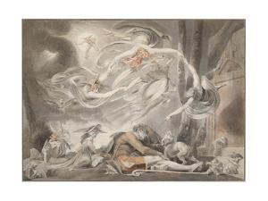 The Shepherd's Dream, 1786 by Johann Heinrich Fussli