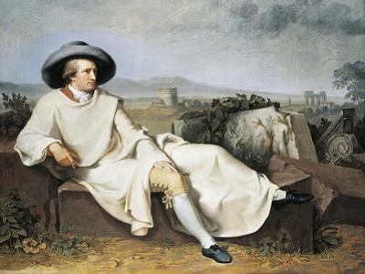 Goethe in Roman Countryside, 1786-1787