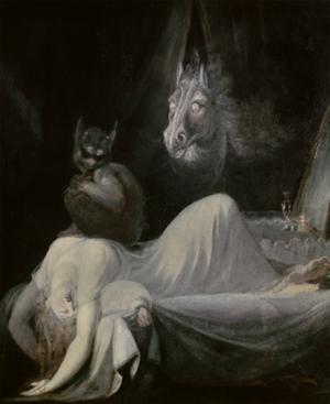 The Nightmare, Ca. 1790-91 by Johann Henrich Fussli