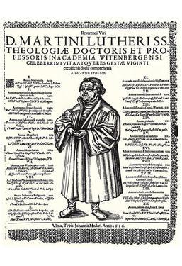 Johann Meder (Written memorial for Martin Luther) Art Poster Print