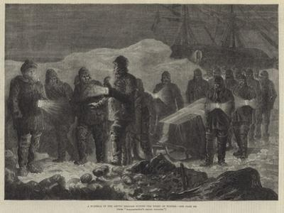 A Funeral in the Arctic Regions During the Night of Winter