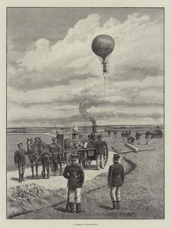 A German War-Balloon