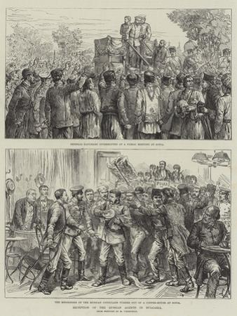 Reception of the Russian Agents in Bulgaria