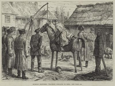 Russian Sketches, Teaching Cossacks to Ride