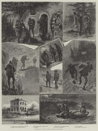 Smugglers' Life on the Austrian Frontiers