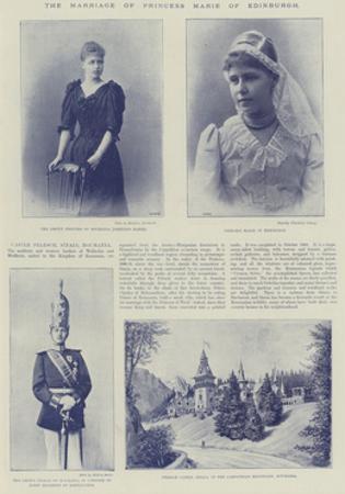 The Marriage of Princess Marie of Edinburgh