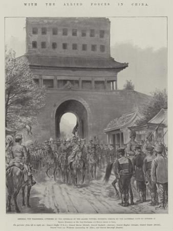 With the Allied Forces in China