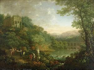 Ideal Landscape, 1776 by Johann Sebastian Bach