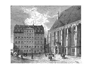 Johann Sebastian Bach's House, Leipzig, Germany, C1890