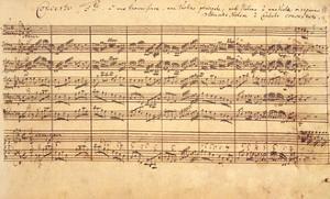 The Brandenburg Concertos, No.5 D-Dur, 1721 by Johann Sebastian Bach