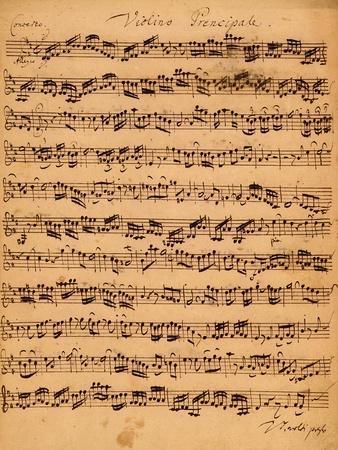 The Brandenburger Concertos, No.5 D-Dur, 1721