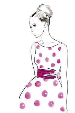 Polka Dot Dress by Johanna Fernihough
