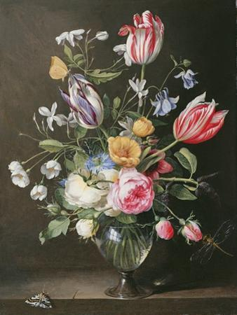 Flowers in a Glass Vase, 1663