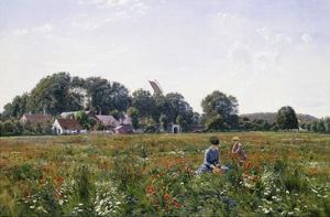 Gathering Wild Flowers by Johannes Boesen