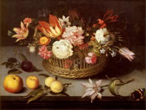 Corbeille de Fleurs by Johannes Bosschaert