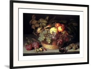 Fruit Basket by Johannes Bosschaert