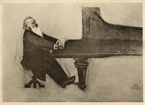 Johannes Brahms German Musician