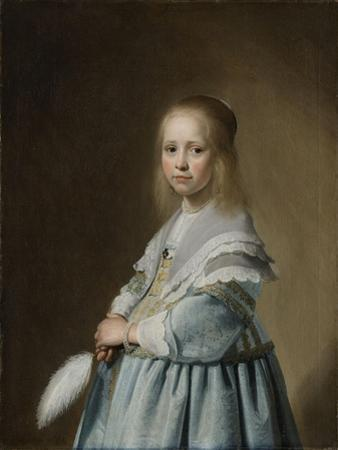 Portrait of a Girl Dressed in Blue, 1641