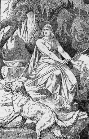 Hel Daughter of Loki and Goddess of the Underworld