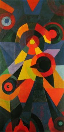Vogelthema , 1918 by Johannes Itten
