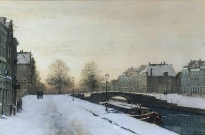 Along the Canal in Winter