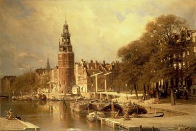 View of the Kalk Market, Amsterdam