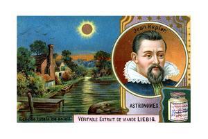 Johannes Kepler, German Astronomer