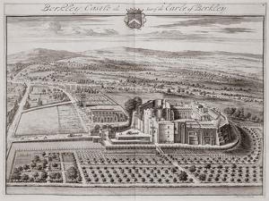 Berkeley Castle, Seat of the Earl of Berkeley by Johannes Kip
